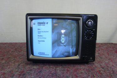 CRT TV's