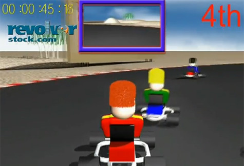 Go Cart Game – 1min – 4:3 & 16:9